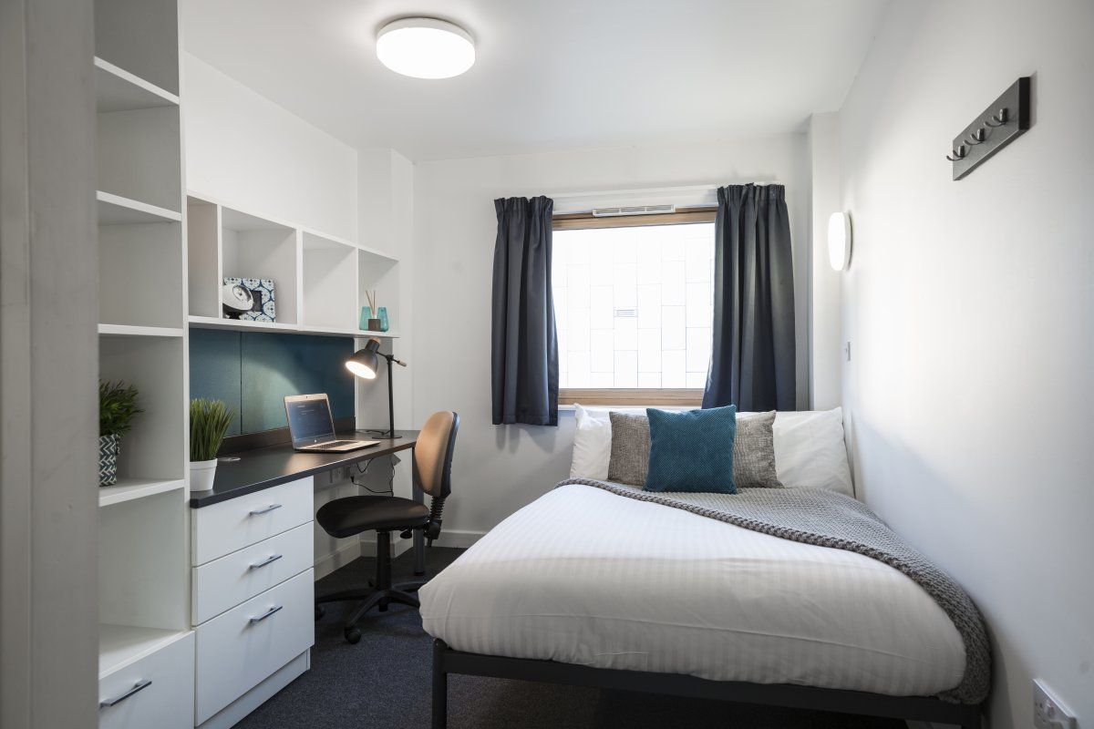 Modern campus accommodation in Luton  Bedfordshire