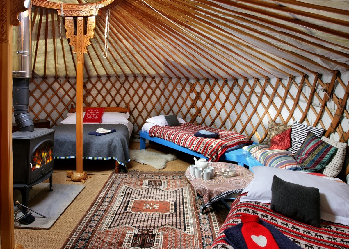 Tipi Accommodation for Large Groups and Gatherings in
