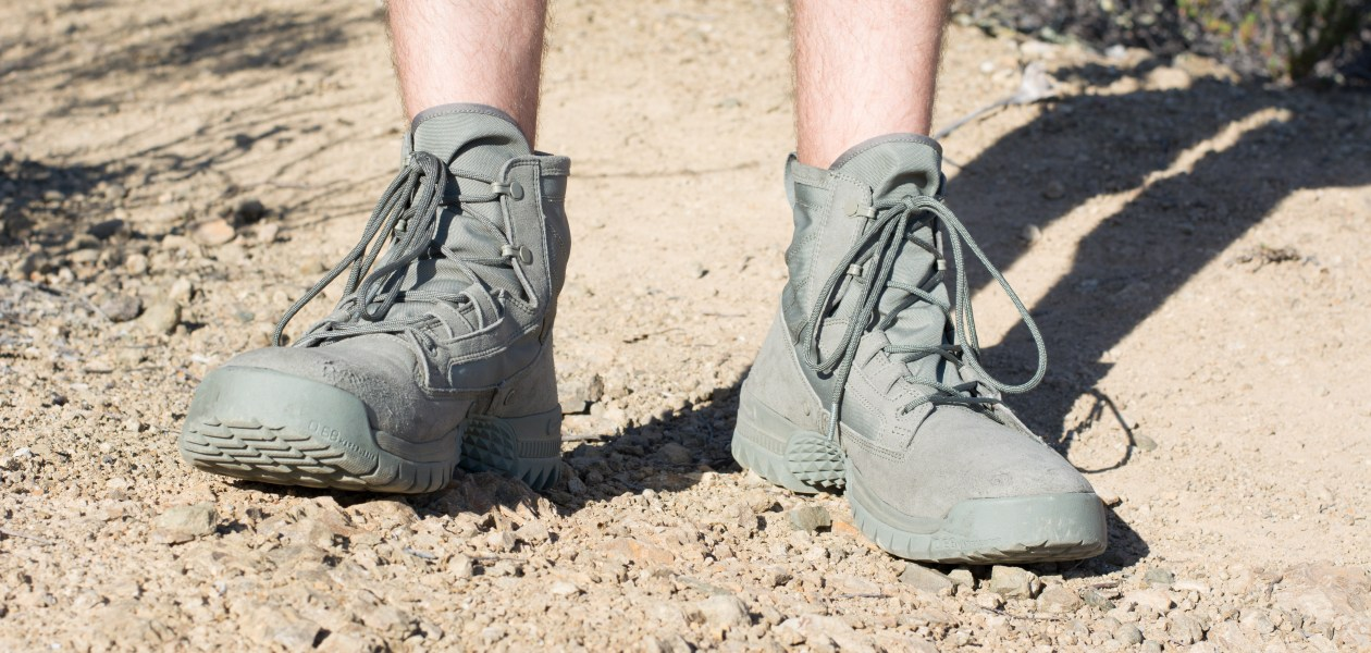 d2c780416bd1 True tactical boots aren t something that normally match with everyday  clothing or make for good everyday shoes. If you wore a pair of standard  military ...