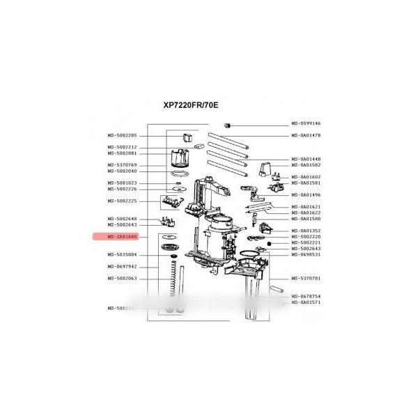 resistance + verin pour petit electromenager MOULINEX