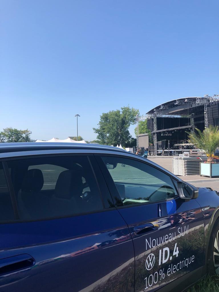 Nouveau SUV ID.4 Volkswagen Brive Festival 2021