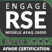 Logo Engagé RSE Frayssinet exemplaire