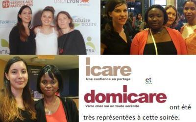 Les salariées du Groupe Icare en final des Trophées des services à la personne!