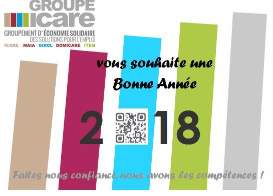 Nos meilleurs vœux pour la nouvelle année!