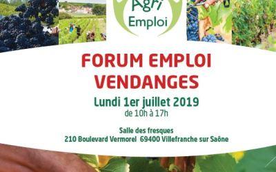 Recrutement pour des jobs saisonniers, rendez-vous le lundi 1er juillet  à Villefranche sur saône