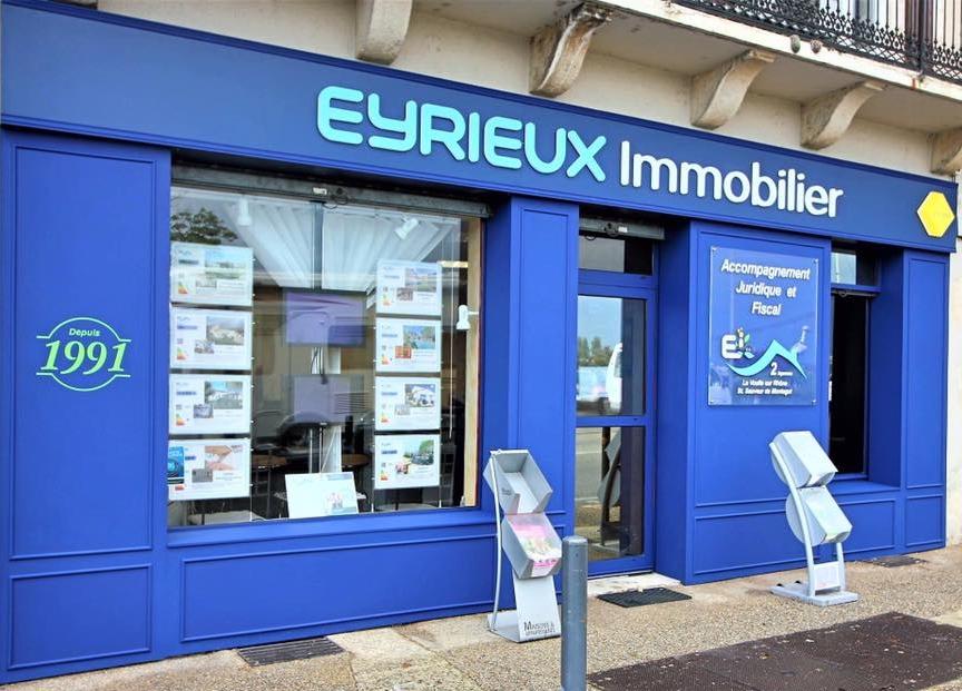 Agence EYRIEUX IMMOBILIER  DROME IMMOBILIER  Valence Saint sauveur de Montagut et Voultesur