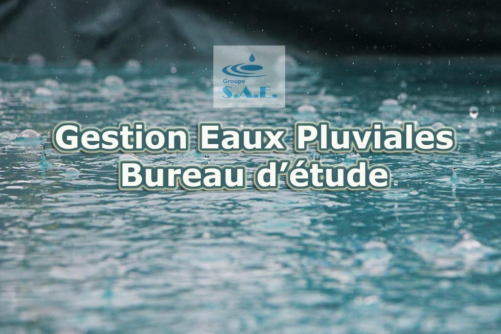 Gestion Eaux Pluviales Bureau Dtude Var PACA France