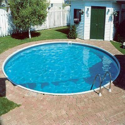 piscine enterree forme ronde groupe