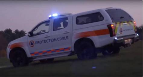 Isuzu Dmax - Protection Civile