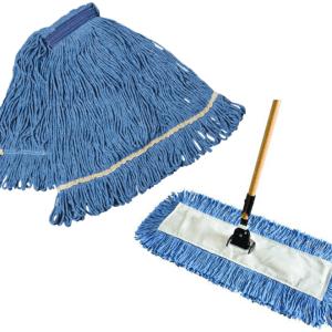 Tête de moppe et vadrouille