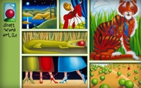 $40 for $80 Worth of Original Paintings by Scott Ward Art