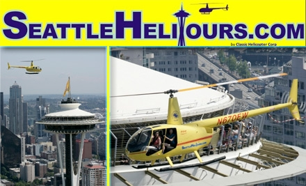 $135 for an Aerial Sightseeing Outing with Seattle HeliTours ($273 Value)