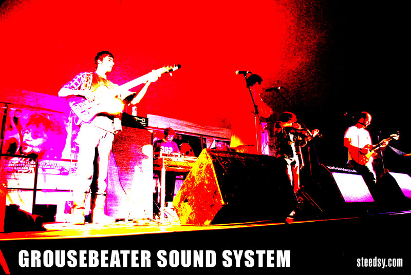 Grousebeater Sound System - Photo by Steedsy.com