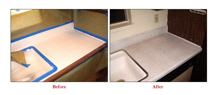 refinishing kitchen countertops lazy susan grout expectations countertop will revitalize any without the high expense of replacing whole counter