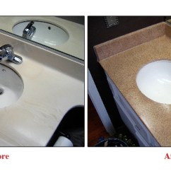 Refinishing Kitchen Countertops Frigidaire Appliances Reviews Grout Expectations Countertop Q