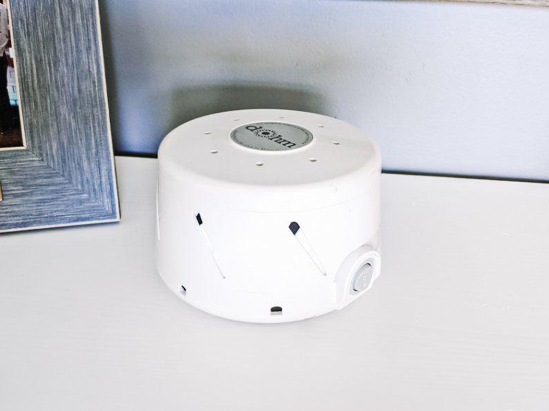Marpac Dohm Classic white noise machine fan to help baby sleep