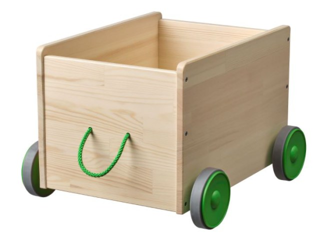 IKEA Flisat toy storage wagon for toddlers Christmas gift ideas