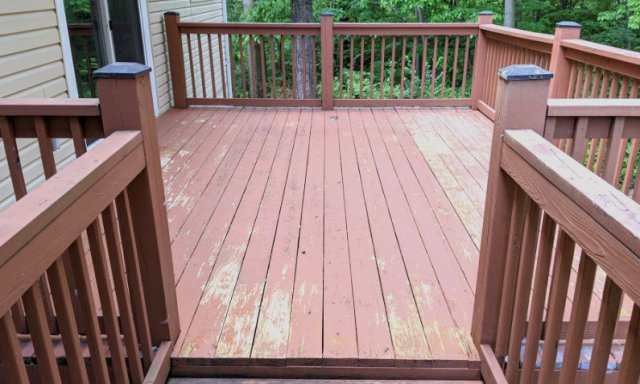 Behr Wood Stain and Finish Stripper attempt