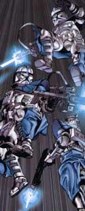 Star Wars: Clone Wars - clones