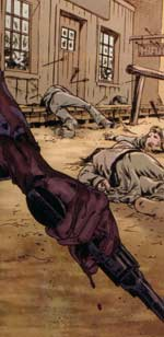 Jonah Hex: Face Full of Violence - bloody gun