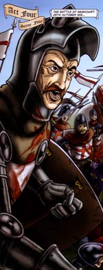 Henry V: The Graphic Novel - Agincourt