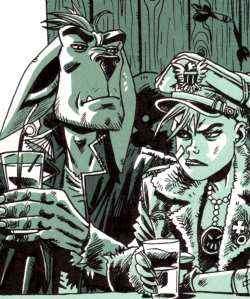 Tank Girl: Bad Wind Rising - Booga and Tank Girl