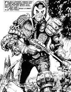 Judge Dredd in The Apocalypse War
