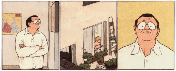 Hubert - at home