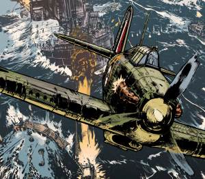 Johnny Red - The Hurricane by Garth Ennis and Keith Burns