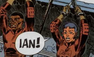 The rescue team need rescuing in Ralph Meyer and Fabien Vehlmann's Ian 1: An Electric Monkey