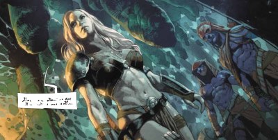 The Meta-Guardianess in The Metabaron - Book 3