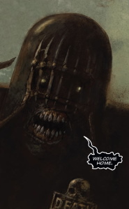 Judge Death in The Fall of Deadworld Book 2 by Kek-W and Dave Kendall