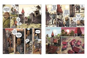 Bilal: Legends of Today preview art 3