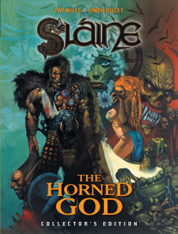 Slaine: The Horned God - Collectors Edition cover by Pat Mills and Simon Bisley