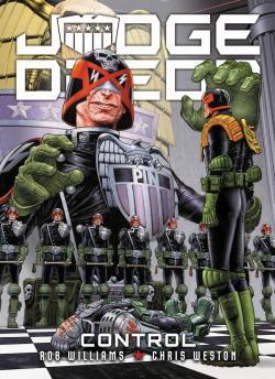 Judge Dredd: Control cover