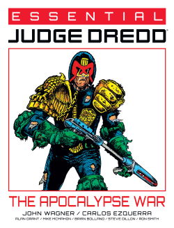 Essential Judge Dredd: The Apocalypse War cover
