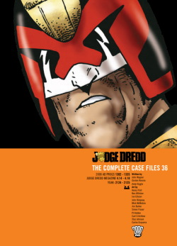 Judge Dredd: The Complete Case Files 36 cover