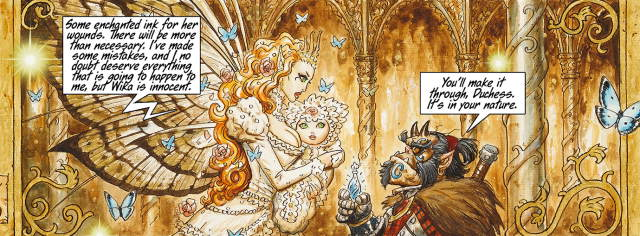 Wika with her mother Titania