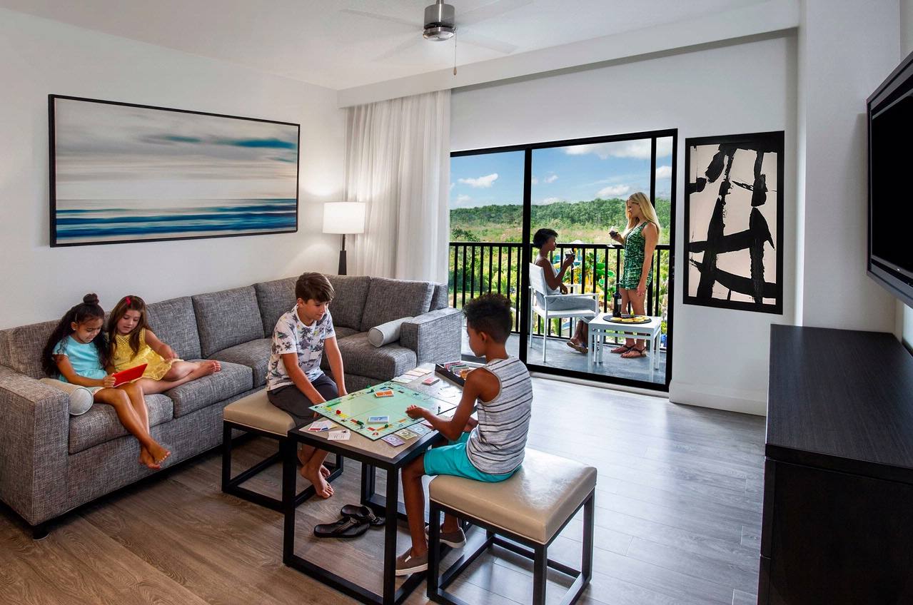 Photos of Family Suites in Orlando at The Grove Resort and Spa