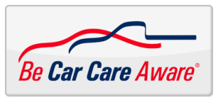 Image result for be car care aware logo