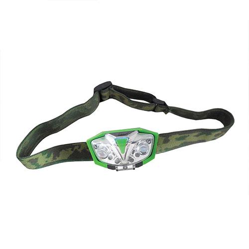 LUMii Green LED Head Torch
