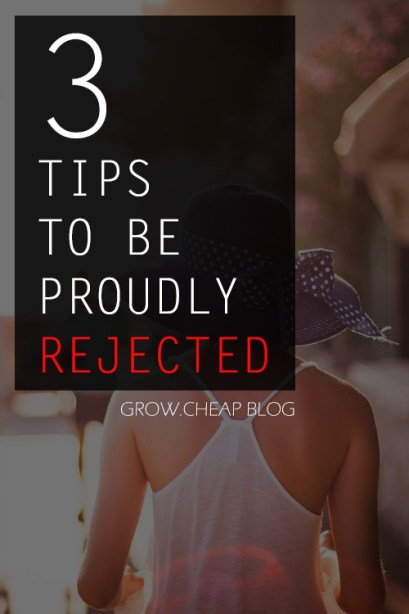 How To Deal With Rejection: 3 Effective Tips #Blogging #Content