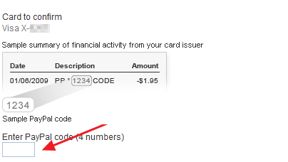 where to find paypal code