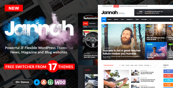 Jannah WordPress Themes With RTL Support