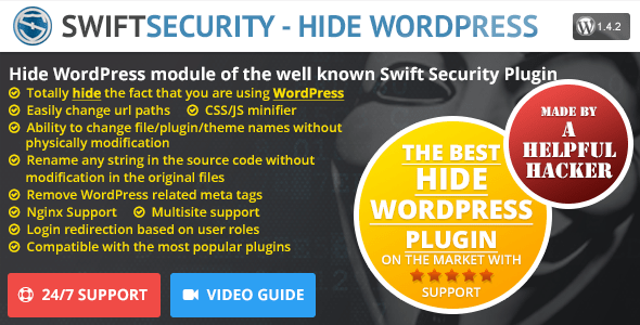 Swift Security - Hide WordPress