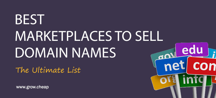 23+ Best Domain Marketplaces To Sell Domain Names
