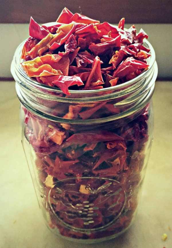 Dehydrate Peppers Food Storage