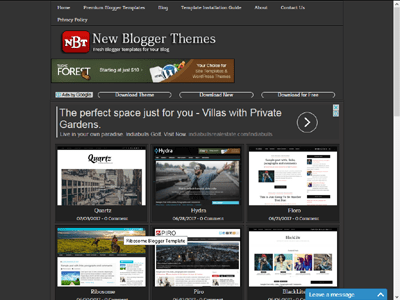 Newbloggerthemes