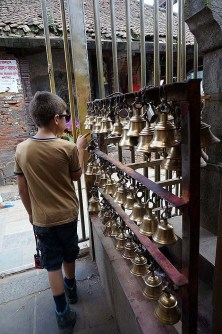 Durbar square - prayer bells
