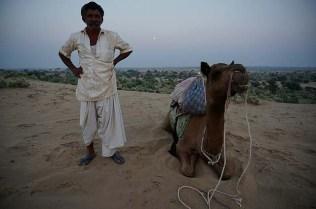 Leelu, one of the flatulent camels
